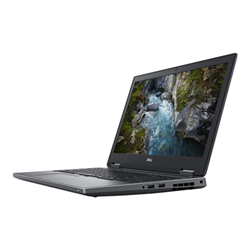 "Workstation Dell Technologies - Dell precision mobile workstation 7530 - 15.6"" - core i7 8850h - 16 gb ram 7rjy8"