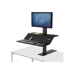 Fellowes - Lotus ve sit-stand workstation - montaggio a scrivania 8080101