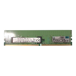 Memoria RAM Hewlett Packard Enterprise - Hpe 8gb 1rx8 pc4-2666v-r smart kit