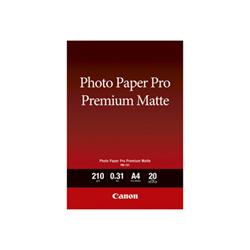Carta fotografica Canon - Pro premium pm-101 - carta fotografica - liscio opaco - 20 fogli - a4 8657b005