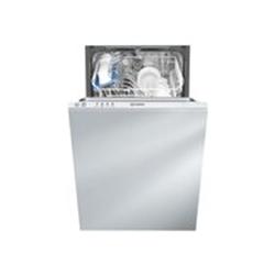 Lave-vaisselle encastrable Indesit DISR 14B EU - Lave-vaisselle - intégrable - largeur : 44.5 cm - profondeur : 55 cm - hauteur : 82 cm - blanc
