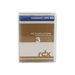 Supporto storage Tandberg - Rdx quikstor - rdx x 1 - 3 tb - supporti di memorizzazione 712880988070