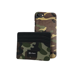 Custodia i-Paint - BUNDLE HARD CASE   KEY HOLDER CAMO