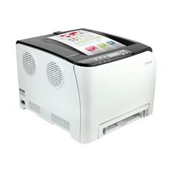 Imprimante laser Ricoh SP C252DN - Imprimante - couleur - Recto-verso - laser - A4 - 2400 x 600 ppp - jusqu'à 20 ppm (mono) / jusqu'à 20 ppm (couleur) - capacité : 250 feuilles - USB 2.0, LAN, Wi-Fi(n), hôte USB