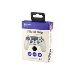 Cover Fellowes - Cover in silicone antiscivolo per controller PS4 Bianco