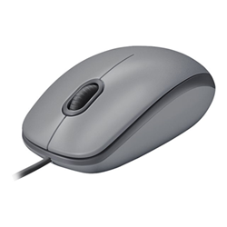 Image of Mouse M110 silent - mouse - usb - grigio medio 910-005490