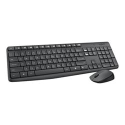 Kit tastiera mouse Logitech - Mk235 - set mouse e tastiera - italiana/mediterranea 920-007913