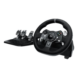 Volante + Pedali Logitech - G920 Driving Force Xbox One/PC