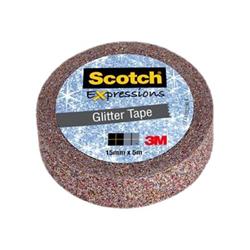 Scotch - Expressions glitter tape c514-mul-we - adesivo decorativo 96347