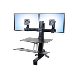 Lenovo - Ergotron tall-user kit for workfit dual - kit montaggio 97-615