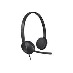 Cuffie con microfono Logitech - USB Headset H340