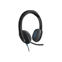 Cuffie con microfono Logitech - USB Headset H540