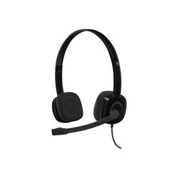 Cuffia con microfono Logitech - H151