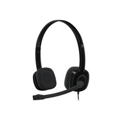 Cuffie con microfono Logitech - Stereo Headset H151