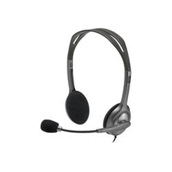 Cuffie con microfono Logitech - Stereo Headset H111