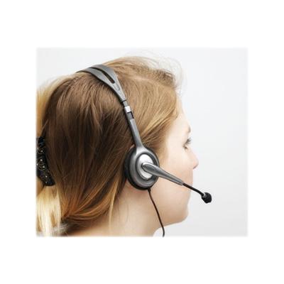 Cuffie con microfono Logitech - Stereo Headset H111. 981-000593 - dettaglio  3 80afb18e377c
