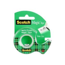 Scotch - Crystal 600 - dispenser con nastro ufficio 98461