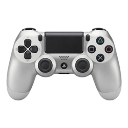 Controller Sony - Dualshock 4 V2 Silver Wireless PS4