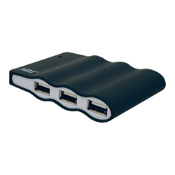 Hub ADJ - Usb hub 4 usb 2.0 ports black