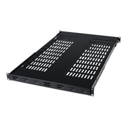 Startech - Startech.com ripiano fisso per armadio server a rack, profondità regolabile men