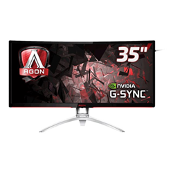Monitor LED AOC - 35'' CURVED AGON FREE-SYNC 200HZ