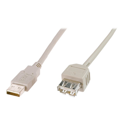 Cavo rete, MP3 e fotocamere ITB Solution - Usb ext cable a 3.0m