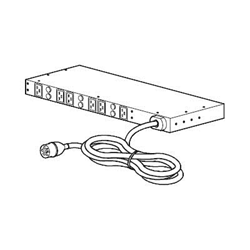 APC - Basic rack pdu - unità distribuzione alimentazione - 22 kw ap7526
