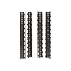 APC - Netshelter cx mini 12u vertical mounting rail kit kit rack rail ar4000mv12u