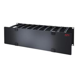 APC - Cable management pannello gestione cavi rack con coperchio - 3u ar8605