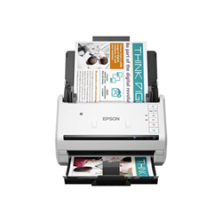 Scanner Epson WorkForce DS-570W - Scanner de documents - Recto-verso - A4 - 600 ppp x 600 ppp - jusqu'à 35 ppm (mono) / jusqu'à 35 ppm (couleur) - Chargeur automatique de documents (50 feuilles) - jusqu'à 4000 pages par jour - USB 3.0, Wi-Fi