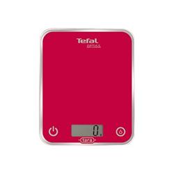 Bilancia da cucina Tefal - Optiss Glass BC5003 Max 5 kg Funzione Tara Rosso
