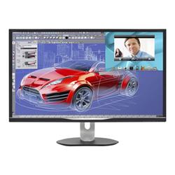 "Écran LED Philips Brilliance BDM3270QP2 - Écran LED - 32"" - 2560 x 1440 - A-MVA - 250 cd/m² - 3000:1 - 4 ms - HDMI (MHL), VGA, DVI-D, DisplayPort - haut-parleurs - noir texturé"