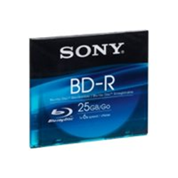 Image of Blu-ray disc Bd-r x 1 - 25 gb - supporti di memorizzazione bnr25sl