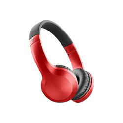 Cuffie con microfono Cellular Line - Akros Rosso Bluetooth