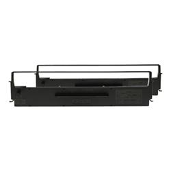 Nastro Epson - Dualpack - 2 - nero - nastro di stampa c13s015646