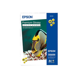 Carta fotografica Epson - Premium - carta fotografica - lucido - 50 fogli - a4 - 255 g/m² c13s041624