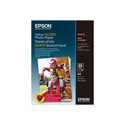 Carta fotografica Epson - Value - carta fotografica - lucido - 20 fogli - a4 - 183 g/m² c13s400035