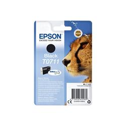 Cartuccia Epson - T0711 - nero - originale - cartuccia d'inchiostro c13t07114012