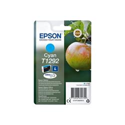 Cartuccia Epson - T1292 - taglia l - ciano - originale - cartuccia d'inchiostro c13t12924012