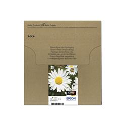 Cartuccia Epson - T1806 easy mail packaging - confezione da 4 c13t18064511