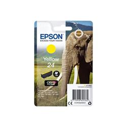 Cartuccia Epson - 24 - giallo - originale - cartuccia d'inchiostro c13t24244012