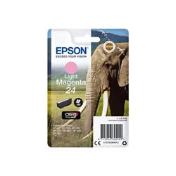 Cartuccia Epson - 24 - magenta chiaro - originale - cartuccia d'inchiostro c13t24264022