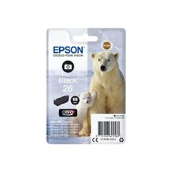 Cartuccia Epson - 26 - nero per foto - originale - cartuccia d'inchiostro c13t26114012