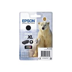 Cartuccia Epson - 26xl - xl - nero - originale - cartuccia d'inchiostro c13t26214022
