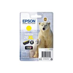 Cartuccia Epson - 26xl - xl - giallo - originale - cartuccia d'inchiostro c13t26344022