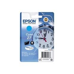 Cartuccia Epson - 27 - ciano - originale - cartuccia d'inchiostro c13t27024012