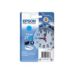 Cartuccia Epson - 27xl - xl - ciano - originale - cartuccia d'inchiostro c13t27124012