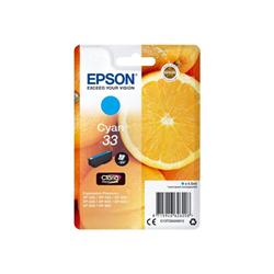 Cartuccia Epson - 33 - ciano - originale - cartuccia d'inchiostro c13t33424012