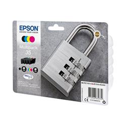 Cartuccia Epson - 35 multipack - confezione da 4 - nero, giallo, ciano, magenta c13t35864020