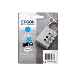 Cartuccia Epson - 35xl - xl - ciano - originale - cartuccia d'inchiostro c13t35924010